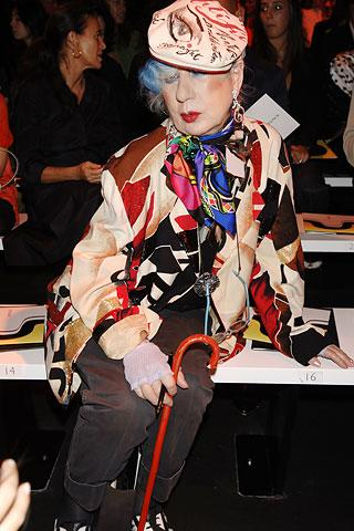 Anna piaggi: ''έφυγε'' η ιταλίδα fashion guru