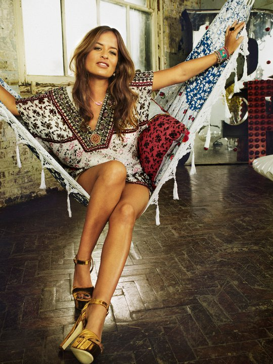 Jade Jagger for Indiska