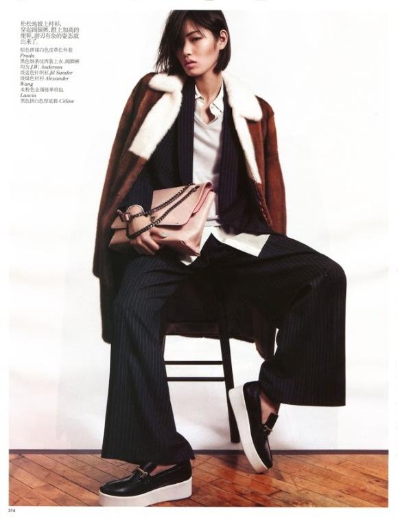 Chiharu Okunugi - Vogue China, January 2013 - 2