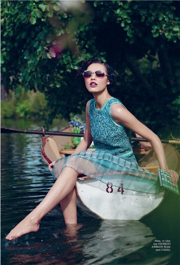 Elle Vietnam, January 2013