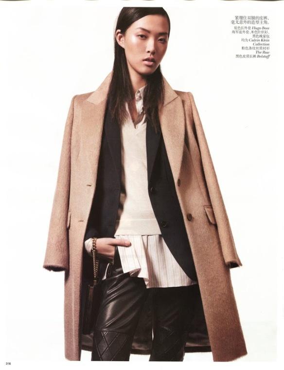 Tian Yi - Vogue China January 2013 - 4