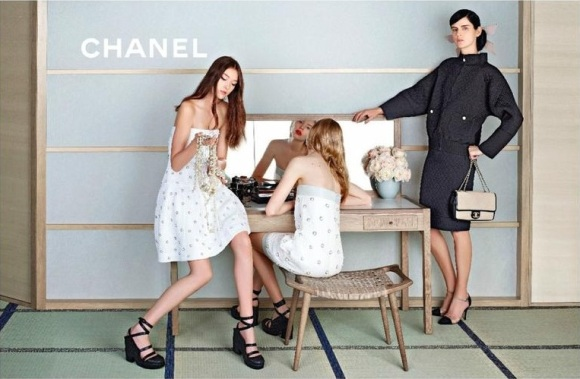 Yumi Lambert - Chanel Spring Summer 2013 - 1