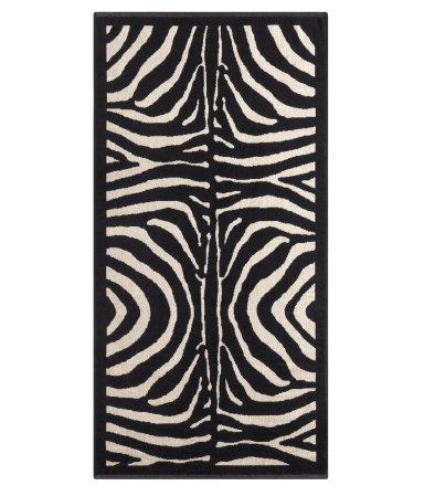 zebrahåndklæde