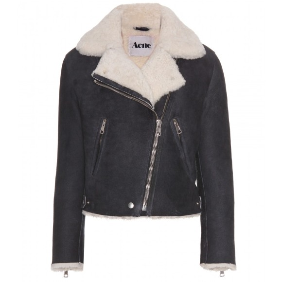 Acne Rita Shearling Jacket